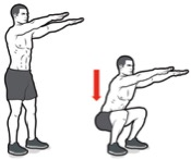 photo how to do squats