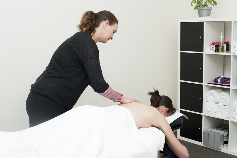 sarah massage therapist